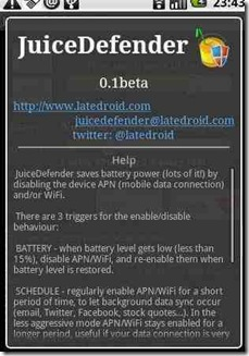 JuiceDefender – Android App To Save Battery By Controlling WiFi Connection