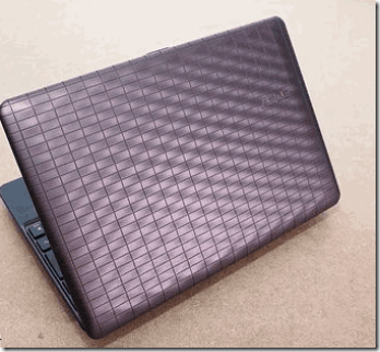 Asus Eee PC 1008P - Karim Rashid Edition – Atom Designer Netbook