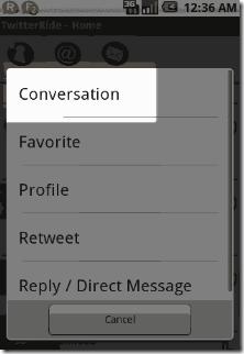 twitterride twitter client