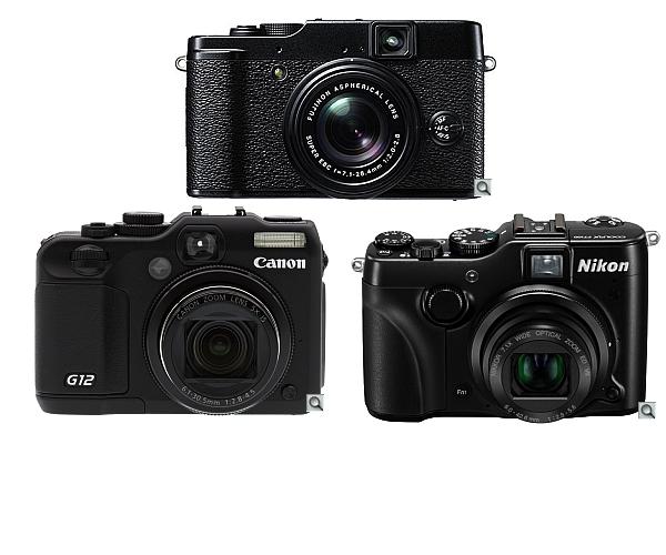 Nikon P7100 vs Fujifilm X10 vs Canon G12 – Compare Specs
