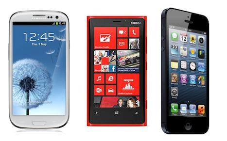 nokia lumia 920 vs iphone 5 vs samsung galaxy s3. apple iphone 5 vs samsung galaxy s3 nokia lumia 920 \u2013 compare specs iphone g