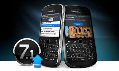 upgrade blackberry to 7.1