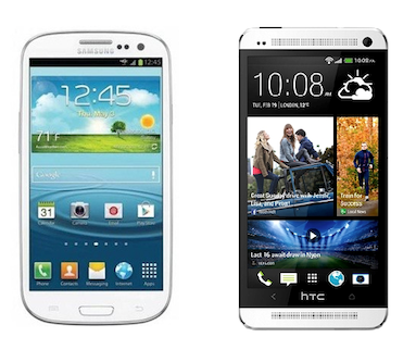 HTC One Mini vs Samsung Galaxy S4 Mini - Compare Specs
