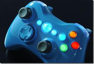 xbox 360 blue controller