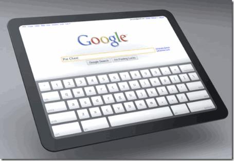 google chrome os tablet pc